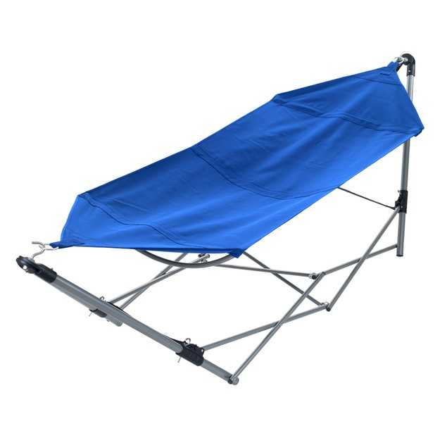 Stalwart Portable Hammock with Frame Stand & Carrying Bag
