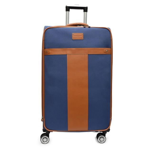 Adrienne Vittadini 3 pc Canvas Natural Color Luggage Set