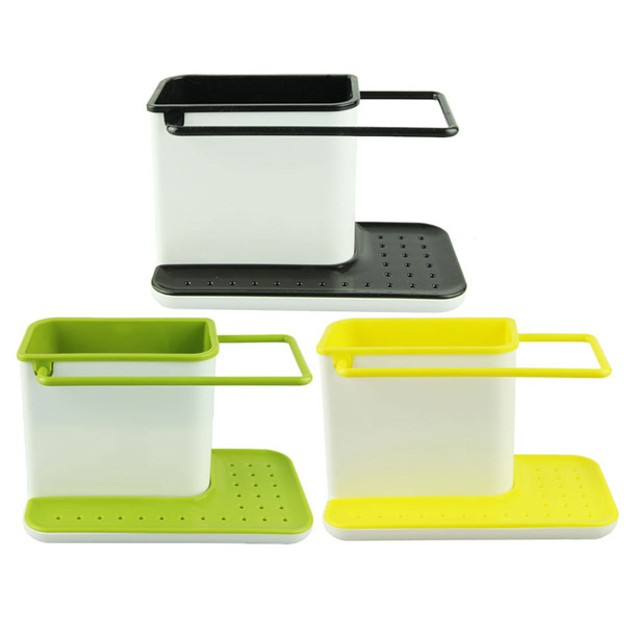 3-in-1 Kitchen Storage Rack for Utensils