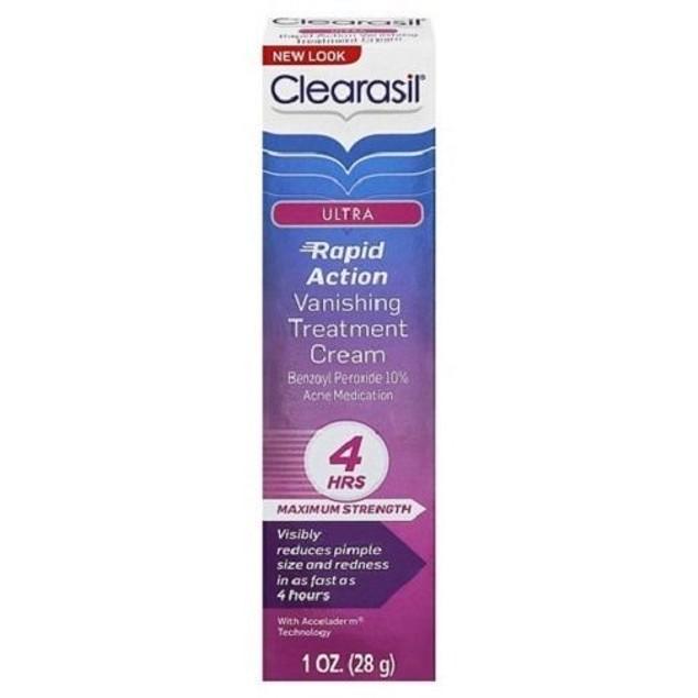 Clearasil Ultra Acne Rapid Action Vanishing Cream
