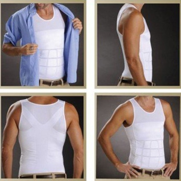 Insta Trim Compression & Body Support Undershirt