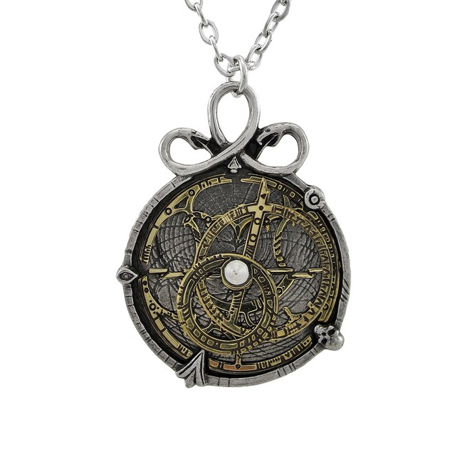 Alchemy Gothic Anguistralobe Astrolabe Pendant W/ Womens Pendant Necklaces