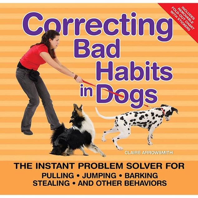 Correcting Bad Habits in Dogs Book, Assorted Dogs by TFH Publications