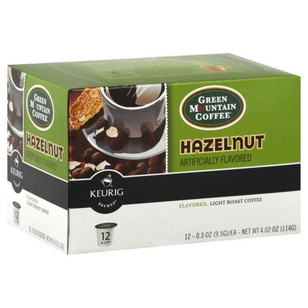 Green Mountain Coffee Hazelnut Keurig K-Cups