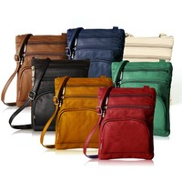Deals on Super Soft Leather Crossbody Bag