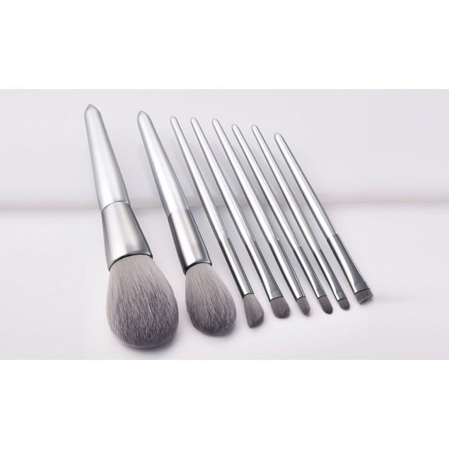 Chromatic Makeup Brushes (8-Pieces)