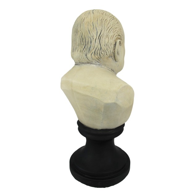 Ceramic Winston Churchill With Cigar Bust Bust Sculptures