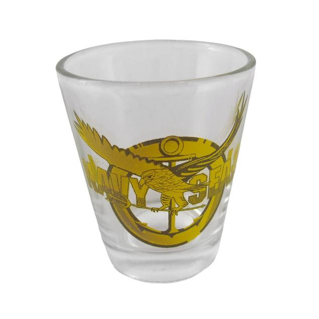 Navy Seals Logo Shot Glasses- Set Of 6 Shot Glasses