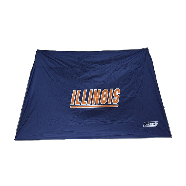 Ncaa Illinois Fighting Illini 10X10 Slant Leg Family Tents