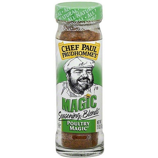 Chef Paul Prudhomme's Seasoning Blends Poultry Magic