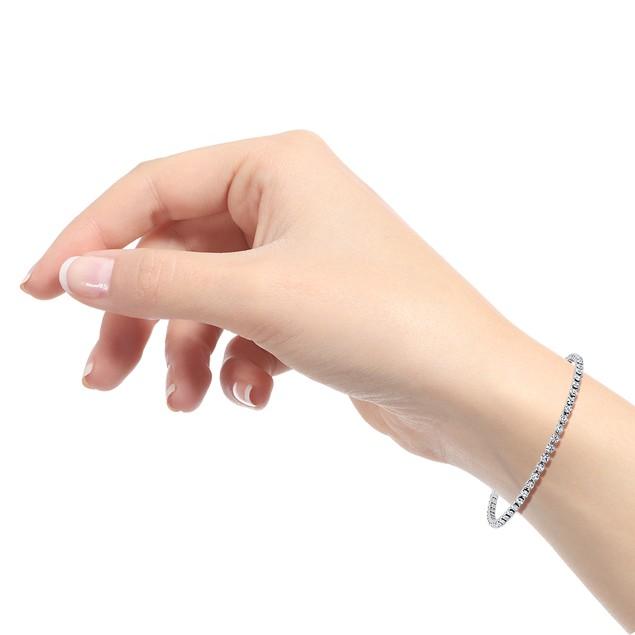 Classic CZ Eternity Bracelet