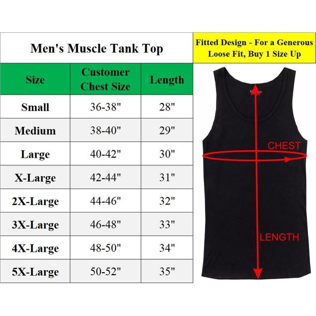6-Pack Men's Crew Neck Muscle Tank Tops