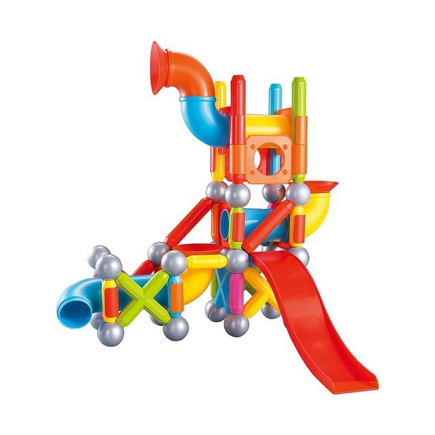 Magnetic Block Set - 71 Pieces