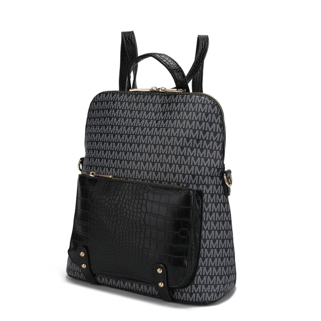 Mia K. Collection Rede Signature Backpack
