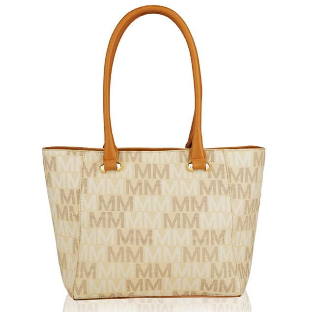 MKF Collection Lady M Signature Tote Set (Tote-Mini Tote) by Mia K. Farrow