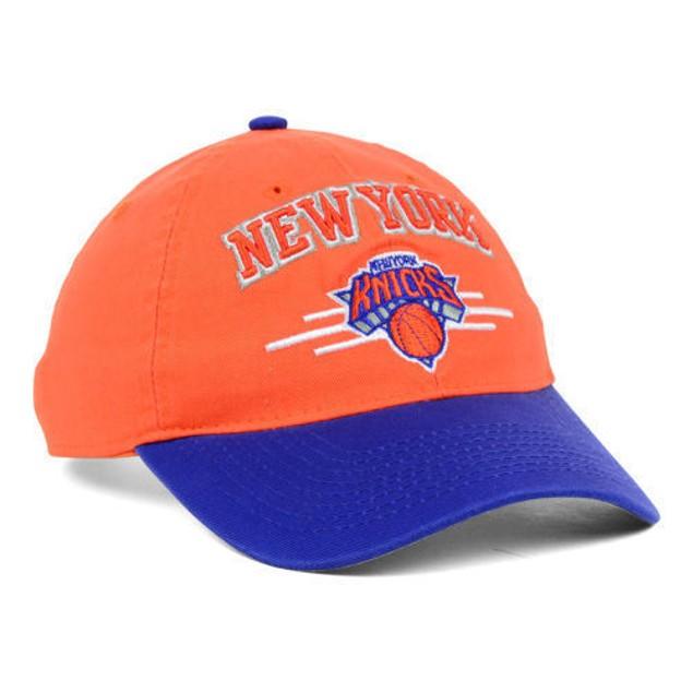 "New York Knicks NBA Adidas ""2 Tone Slouch"" Adjustable Hat"