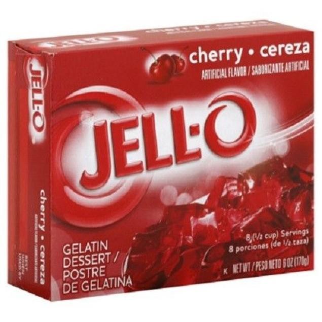 Jello Cherry Instant Jello Mix 6 oz Box