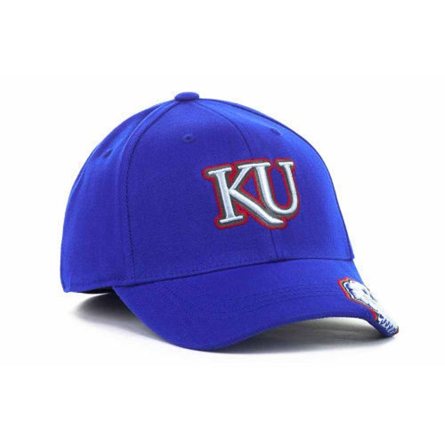 "Kansas Jayhawks NCAA TOW ""All Access"" Stretch Fitted Hat"