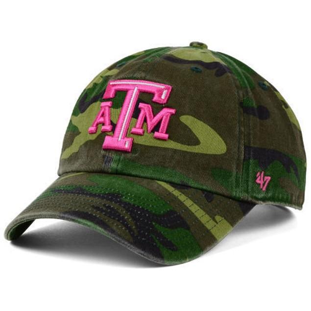 "Texas A&M Aggies NCAA 47' Brand ""Fashion"" Clean Up Adjustable Hat"