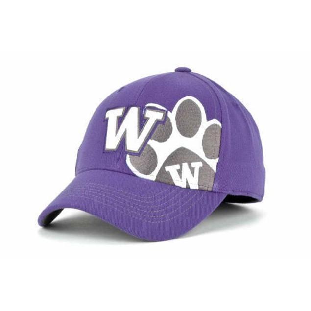 "Washington Huskies NCAA TOW ""Big Ego"" Stretch Fitted Hat"