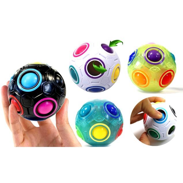 Rainbow Ball Solving Cube