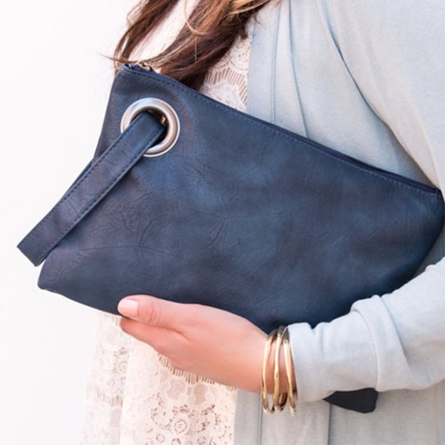 Versatile Envelope Clutch Handbag