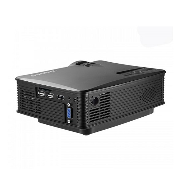 OWLENZ LED 1080P Projector with 1500 LUMENS - Black