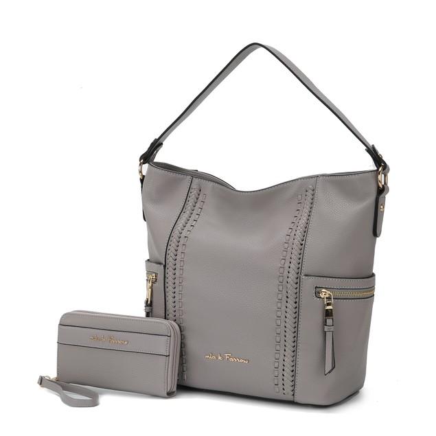 MKF Collection Bri Hobo Shoulder Bag with Wallet