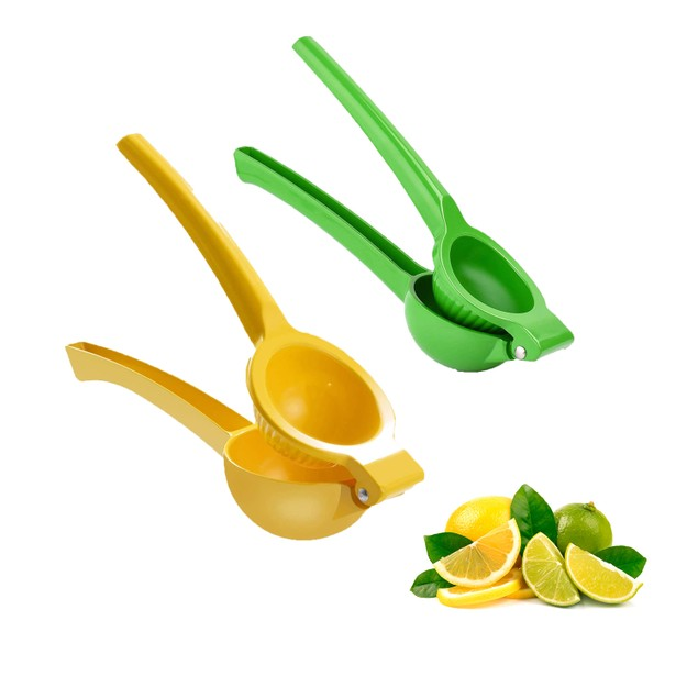 2 Pack: Lemon and Lime Juice Squeezer