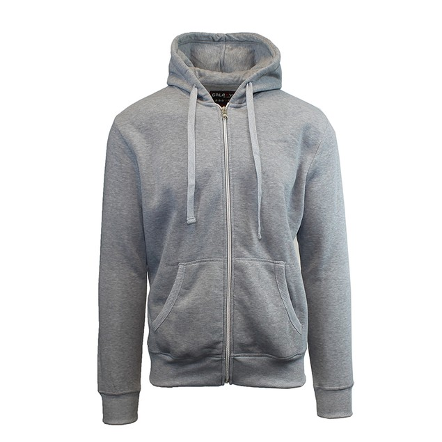 Men's Heavyweight Fleece Zip Hoodie (S-2X)