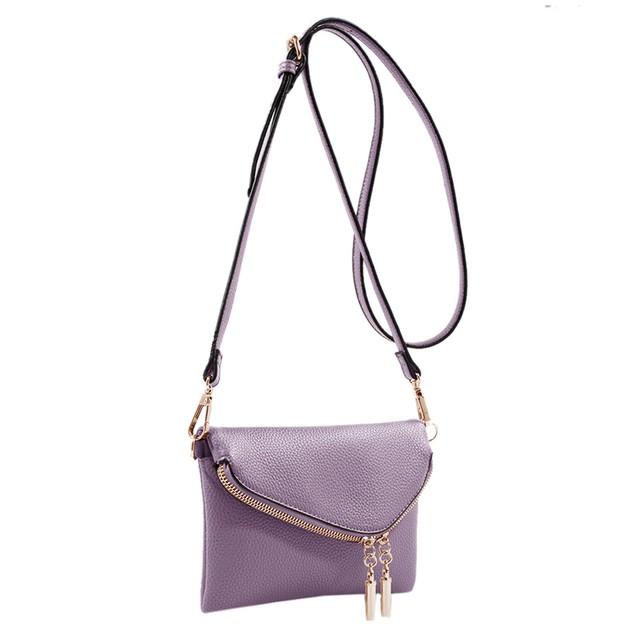 MKF Collection Celebrity Style Saddle Bag by Mia K. Farrow
