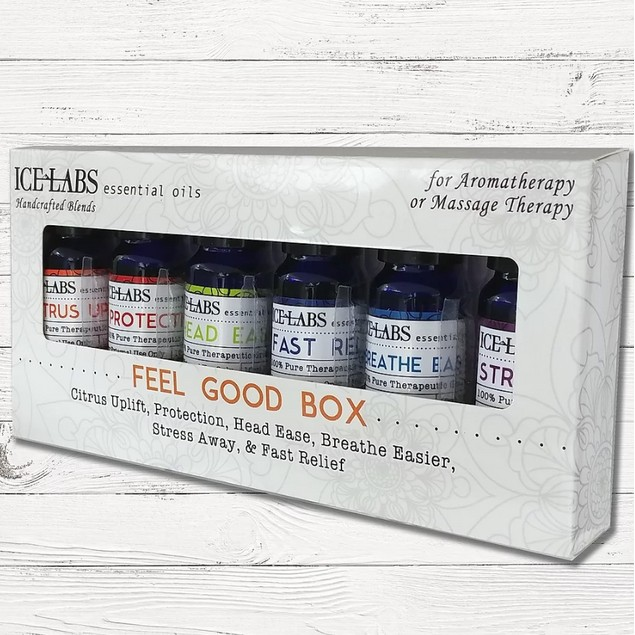 6-Pack IceLabs Feel Good Essential Oil Set