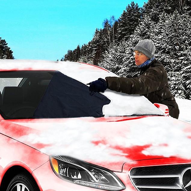 Zone Tech Car Winter Snow Windshield Cover