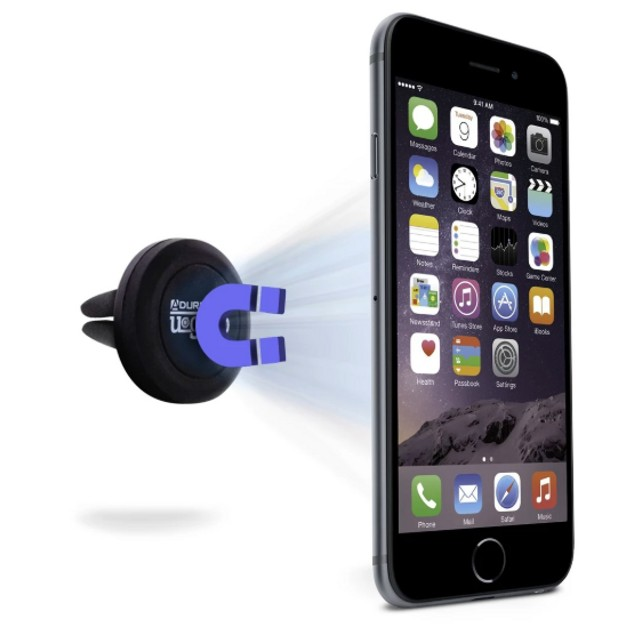 2-Pack Aduro U-Grip Universal Magnetic Vent Car Mount for Mobile Devices
