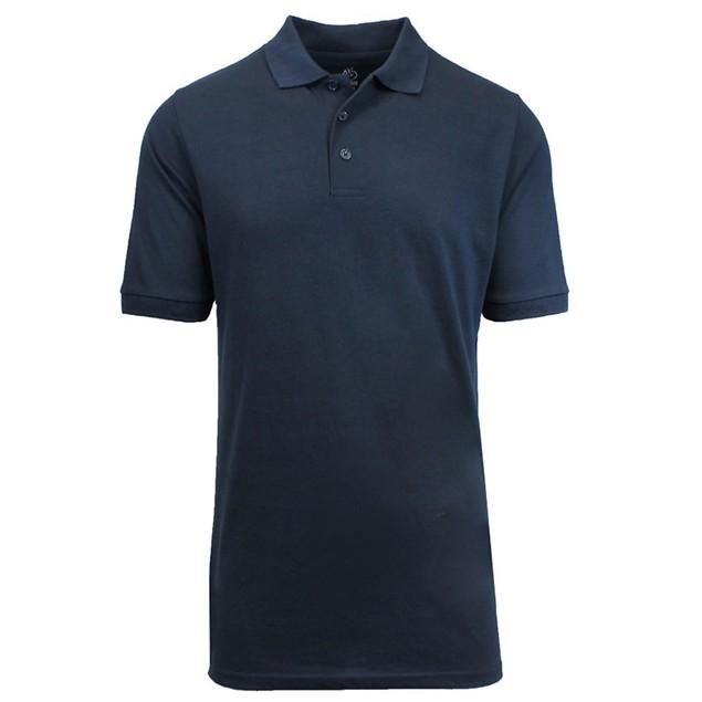 Harvic Men's Premium Quality Pique Polos M-XXL - 13 Colors