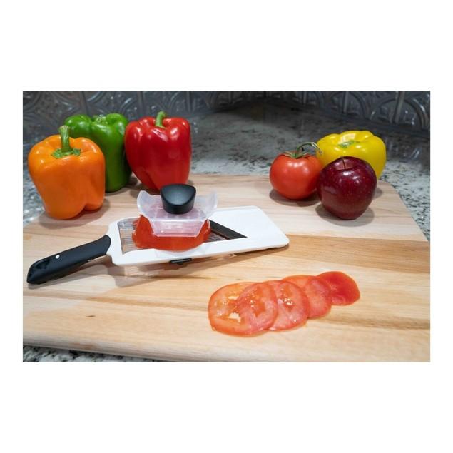 Adjustable Quick & Easy Handheld Fruit & Vegetable Mandoline Slicer