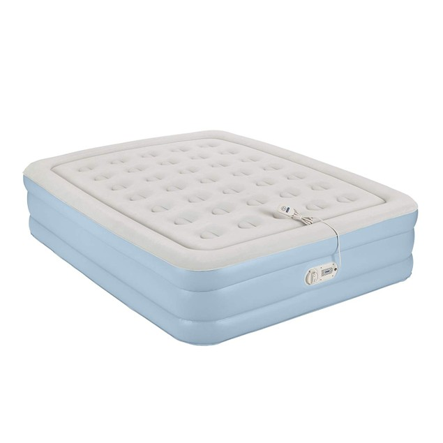 AeroBed One-Touch Comfort Airbed Queen Mattress with Built-in Pump