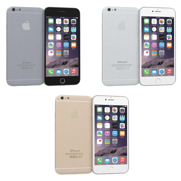 Apple iPhone 6 128GB Unlocked Bundle (Tempered Glass, Charger, Case)