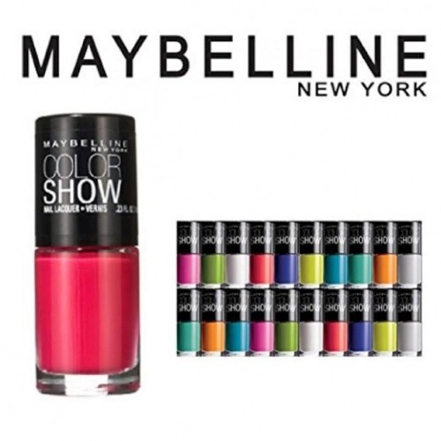 10 Pack: Maybelline Color Show Nail Polish - Assorted Colors