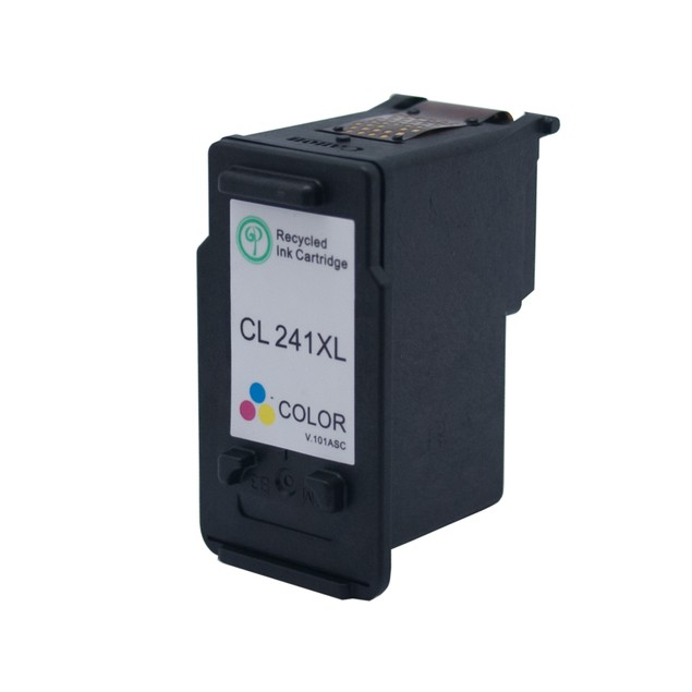 Canon PG240XL/CL241XL Compatible Ink 2-Pack (High Yield Black & Tri-Color)