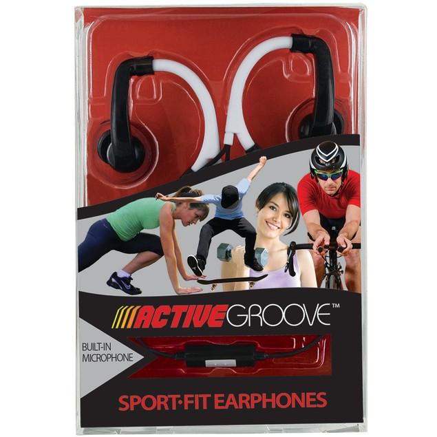 Active Groove Sport Fit Earphones