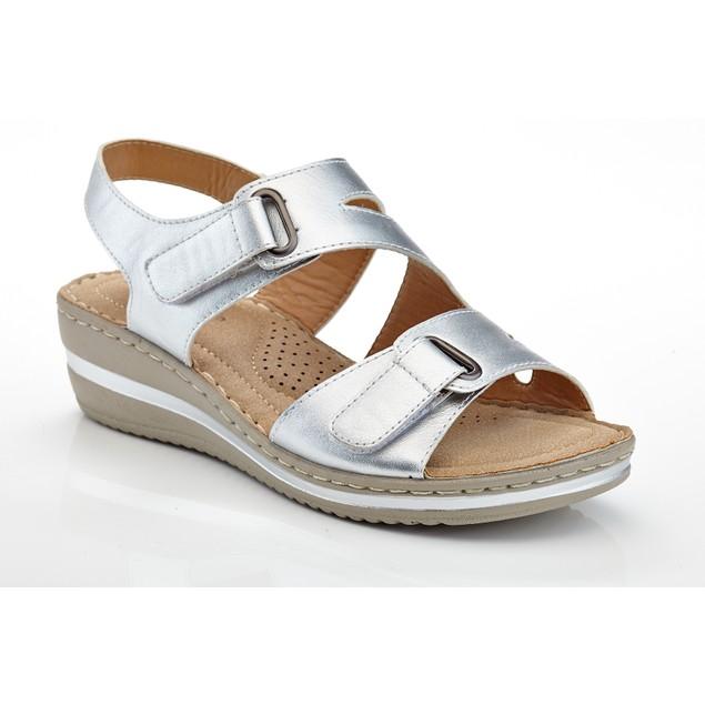 Women's Velcro Strap Casual Comfort Wedge Sandals