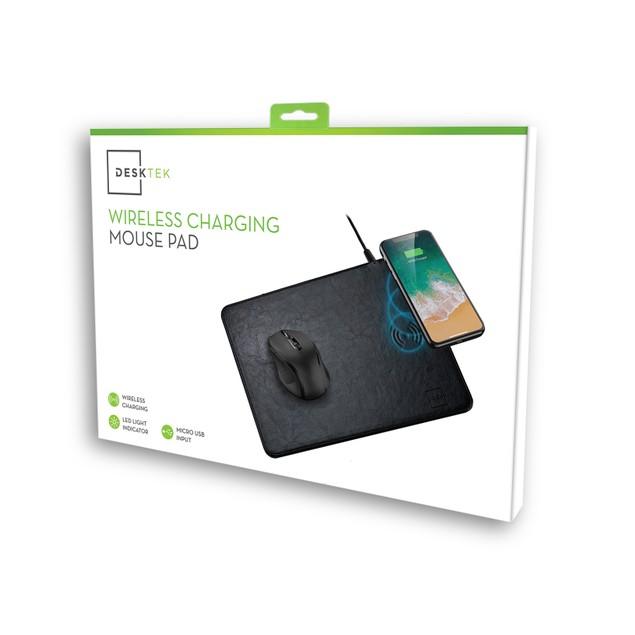 DeskTek Wireless Charging Mouse Pad