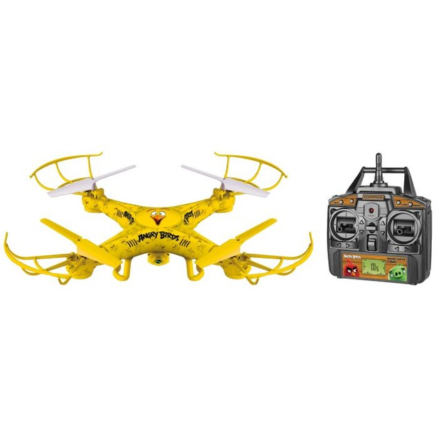 Angry Birds Licensed Squak-Copter 4.5CH 2.4GHz RC Camera Drone