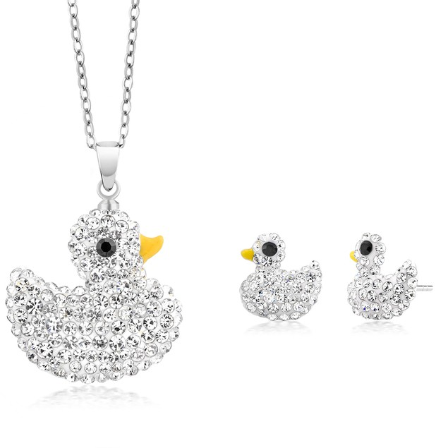 Crystal Earring And Necklace Set - 7 Styles to Choos