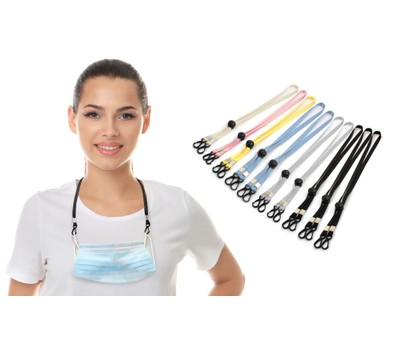 10-Pack Adjustable Mask Loop Extender and Lanyard Was: $15.99 Now: $10.99.