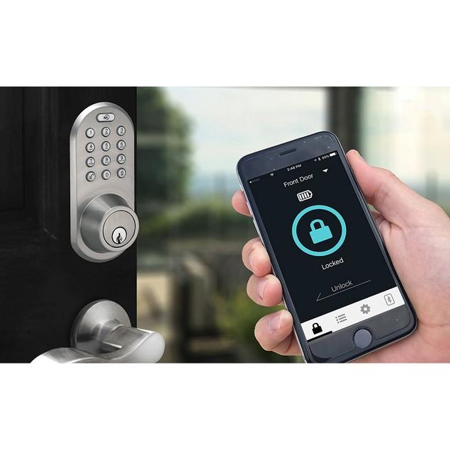 MiLocks Keyless Entry Deadbolt with Bluetooth and Digital Keypad