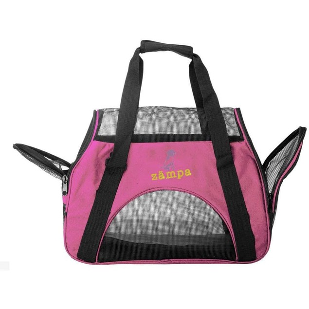Zampa Airline Approved Soft Sided Pet Carrier for Cats and Small Dogs
