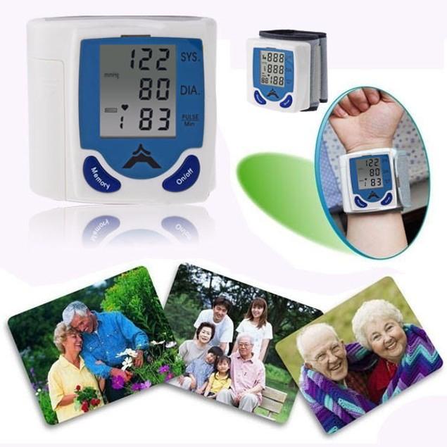 Digital Wrist Blood Pressure Moniter
