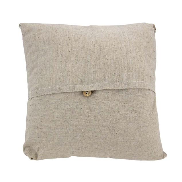 Life's A Beach Embroidered Decorative Throw Pillow Throw Pillows
